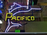Pacifico Neon Sign. Excellent working condition.