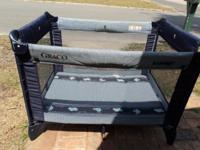 Pack n Play - made by Graco Easy to put up and lock