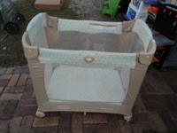 Graco Travel Crib - with Stages Fold n Go, Portable