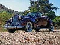 This 1938 Packard 12 Convertible-Coupe features a 473
