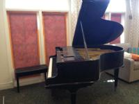Used Packard Baby Grand Piano.  Our community just