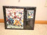 I have for sale a Brett Farve Plaque for $5. A Leroy