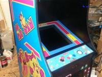 This is a brand new Pac-man cabinet ,made in USA ,same