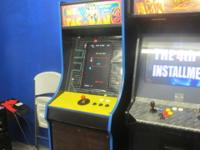 I have an arcades classic multicade, that I made, for