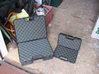 2 Doskocil padded cases. One large and one small $20