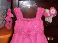 Baby cupcake style dress for rent 18-24months $150.00