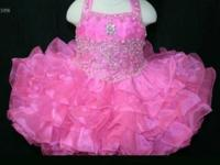 We have the largest selection of little girl pageant