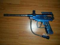 selling two paintball guns a spider victor blue and a