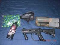 selling my Tippmann 98 Platinum.comes with tank,bag of