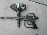 I have three paint ball guns for sale. The blue one is
