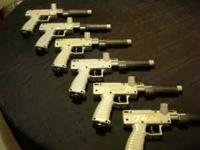 i have six talon paint ball guns these are co2 canister