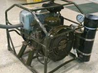 We bought this compressor when we where scuba diving,