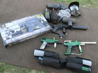 I have all kinds of Paint Ball stuff 1 new gun call