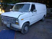 I have a 1990 ford e150 van from down state i am