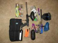 2 paintball guns and more Bob Long Intimidator