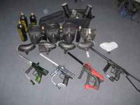 I am selling all of my paintball stuff because I am