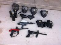 Paint Ball equipment for sale $150.00 firm.