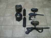 I have two paintball guns! one is a tippman prolite and