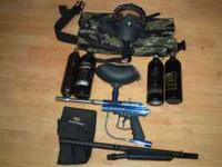 I have an assortment of paintball gear including