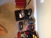 Lots of paintball items for sale. Products are a little