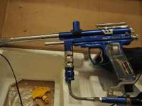 This paintball gun set is still in the original