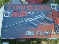 TippMan Paintball gun for sale! All parts, box and Co2