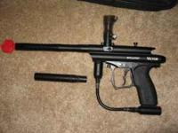 Spyder Victor paintball marker. Only used for 4 games,