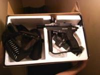 Paintball gun for sale. Includes mask, and two co2