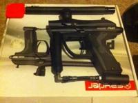 I have a crawler pilot paintball gun with all the jobs,