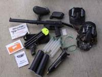 This sale is for a paintball gun set. Included in set: