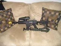 I got a tippman x7 paintball marker, I have used it 3