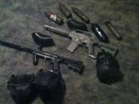 ive got a tippmann model 98 and a alpah black with