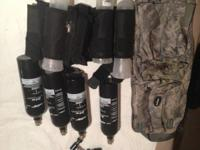 4 paintball guns 3 of them are tippman a-5 1 is a