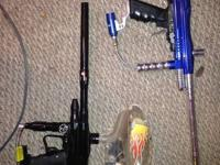I have for sale 4 paintball markrs. And a ton of gear