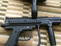 I am selling a Paint ball gun and accessories. Co2