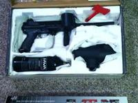 Up for sale is a Tippmann A5 paintball weapon made use