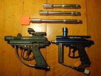 brass eagle eradicator w/ barrel VL orion w/ two