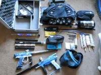 Awesome package with a lot of paintball gear. *2007 Dye