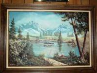 I am having a moving sale this week. The oil painting