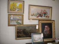 Paintings $150.00 Located in Selma Call John  Location: