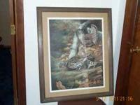 Rare Grouse Paintings in frames by Deceased Painter Jim