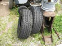 FOR SALE.......A Pair (2) used 245/70/16 inch tires. I