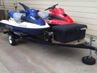 1 or 2. 2000 seadoo gtx. 3 seater . 1 fuel injected 1