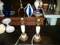 We are selling a pair of stunning 1930's-1940's Marble