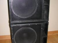 "FOR SALE IS A PAIR OF 15"" CUSTOM BUILT PRO AUDIO"