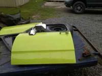 pair of 1988 dodge doors with all the glass and has