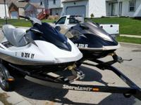 Both have transferable Yamaha Extended Service
