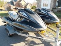FOR SALE IS A PAIR OF 2011 YAMAHA FX HO 1.8L