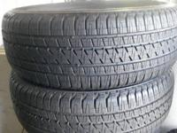 pair of made use of tires 255 55 20 BRIDGESTONE brand