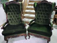 Wing Back chairs purchased in Germany in 1980 from an